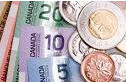 Canadian dollars and cents